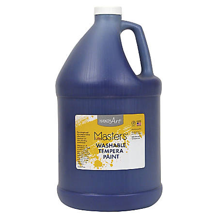 Handy Art Little Masters Washable Tempera Paint Gallon - 1 gal - 1 Each - Violet