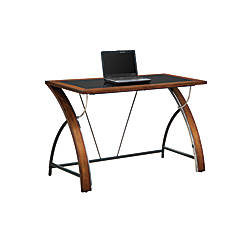 Whalen Furniture Montreal Laptop Desk Cherry