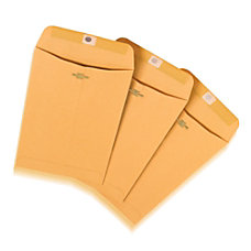 Office Depot Clasp Envelopes 6 x
