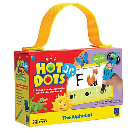 Educational Insights® Hot Dots® Jr. The Alphabet Card Set, Pre-K - Grade 2
