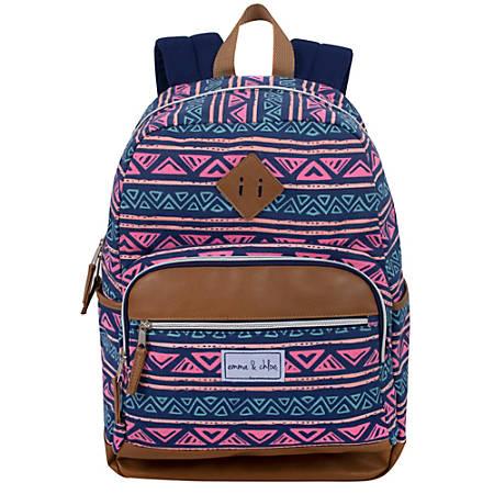 "Trailmaker Cotton Backpack With 17"" Laptop Pocket, Multicolor"