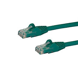 StarTechcom 25 ft Green Snagless Cat6