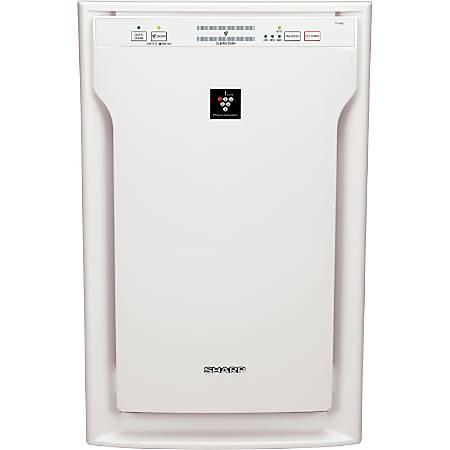 Sharp FP-A80UW Air Purifier - HEPA - 454 Sq. ft. - 2378.8 gal/min - White