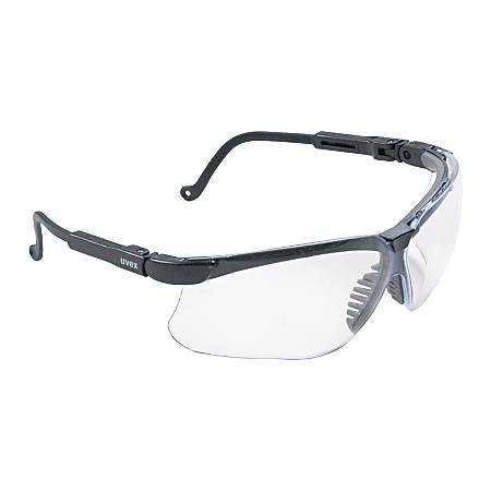 Sperian Wraparound Safety Eyewear, Black/Clear