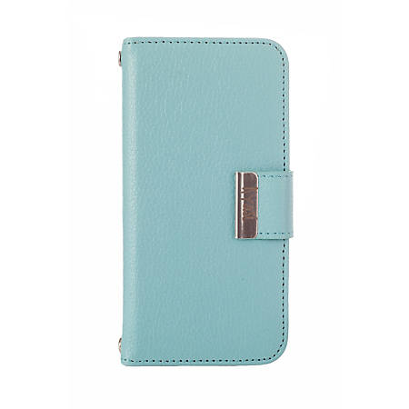 Kyasi Signature Phone Wallet Case For iPhone®5/5S, Catalina Blue
