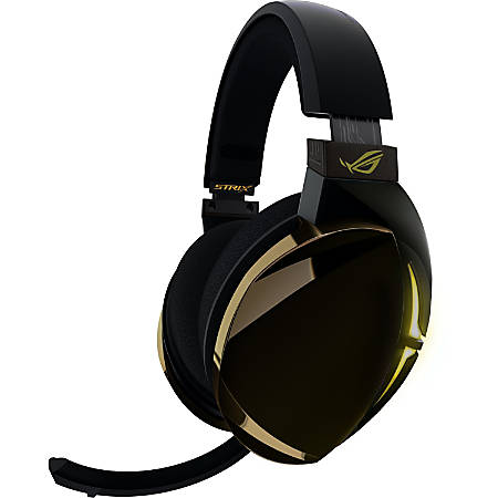 Asus ROG Strix Fusion 700 Headset - Stereo - USB - Wired - 32 Ohm - 20 Hz - 20 kHz - Over-the-head - Binaural - Circumaural - 6.56 ft Cable - Uni-directional Microphone - Black