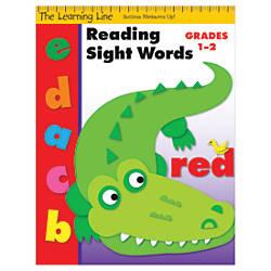 Evan Moor Learning Line Sight Words