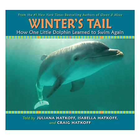 Scholastic Winter's Tail: How One Little Dolphin Learned To Swim Again