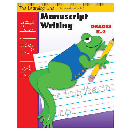 Evan-Moor® Learning Line: Manuscript Writing, Grades K-2
