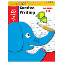Evan Moor Learning Line Cursive Writing