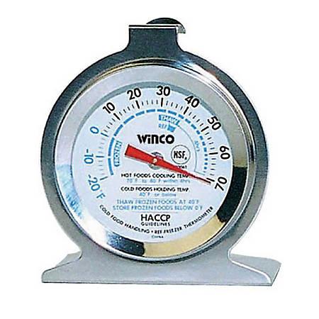 Winco Refrigerator/Freezer Thermometer