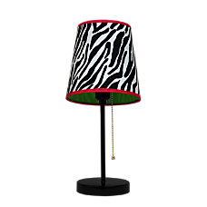 LimeLights Fun Prints Funky Table Lamp