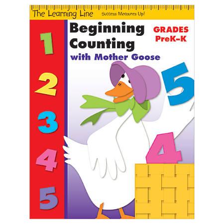 Evan-Moor® Learning Line: Beginning Counting, Grades Pre-K-K