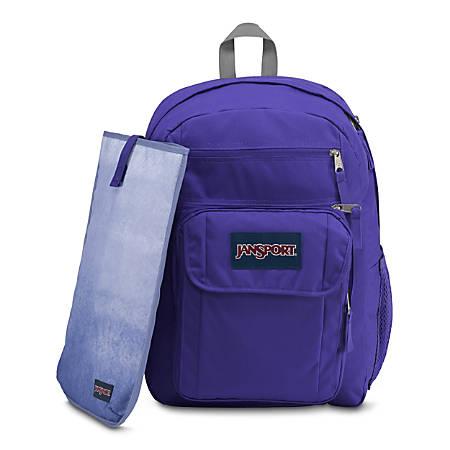 JanSport Digital Big Student Backpack With 15 Laptop Pocket Ink ...
