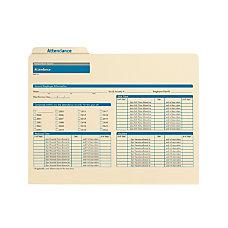 ComplyRight Attendance Folders 11 34 x