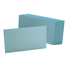 Oxford Color Index Cards Unruled 3