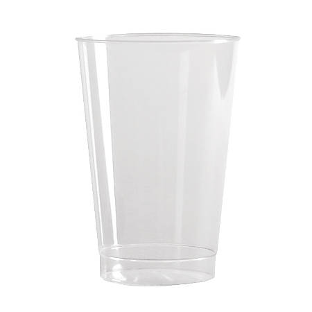 Comet 10-Oz-Tall Tumblers, Clear, Case Of 500