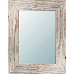 PTM Images Framed Mirror Light Wood