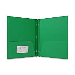 Sparco 2 Pocket Folders with Fasteners