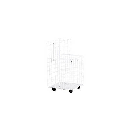 Safco® Wire Roll File, Tiered, 24 Compartments, White