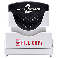 ACCU STAMP2 Pre Ink Message Stamp