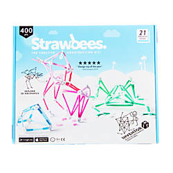 Strawbees 400 Piece Inventor Kit