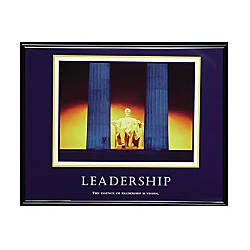 Advantus Motivational Leadership Framed Poster 30