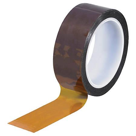 """Kapton® Sealing Tape, 3"""" Core, 1.5"""" x 108', 1 mil, Amber"""