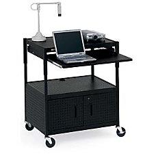 Bretford ECILS3 BK Mobile Projector Cart
