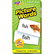 Trend Skill Drill Flash Cards Picture