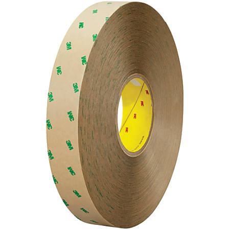 "3M™ 9505 Adhesive Transfer Tape, 3"" Core, 1"" x 60 Yd., Clear, Case Of 36"