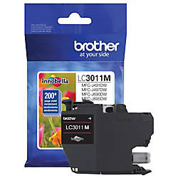 Brother LC3011M Original Ink Cartridge Single