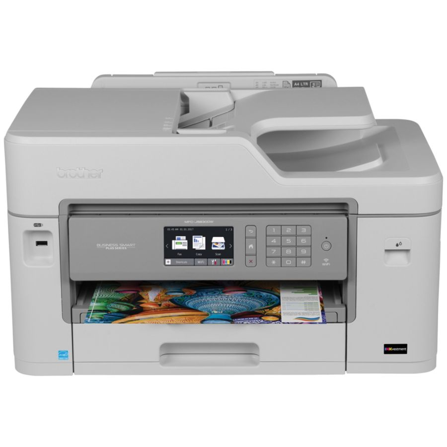 Brother Business Smart Plus Wireless Color Inkjet All In One Printer