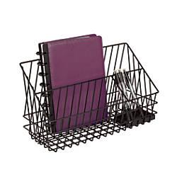 Realspace 3 Compartment Wire Desk Caddy