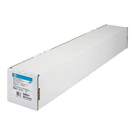 "HP C1861A Bright White Bond Wide Format  Roll, Matte, 36"" x 150', 24 Lb"
