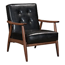 Zuo Modern Rocky Arm Chair BlackWalnut