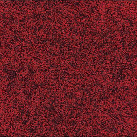 The Andersen Company Stylist Floor Mat, 3' x 6', Red/Black