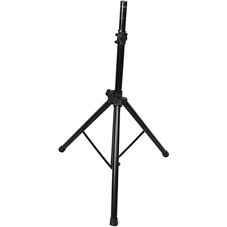 "Supersonic DJ Speaker Tripod Stand - 68"" Height - 200 lb Load Capacity - Black"
