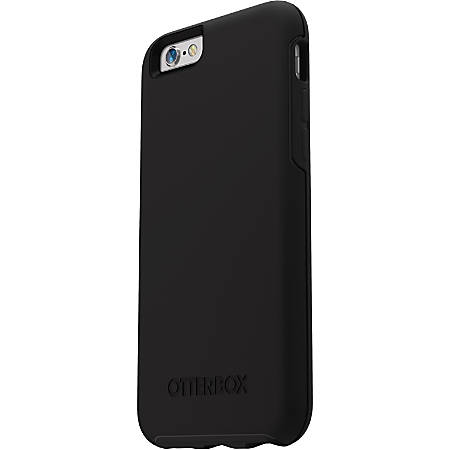 OtterBox iPhone 6/6s Symmetry Series Case - For iPhone 6S, iPhone 6 - Black Crystal - Drop Resistant, Scratch Resistant, Bump Resistant, Drop Resistant, Knock Resistant, Wear Resistant, Tear Resistant, Shock Absorbing, Shock Resistant - Polycarbonate