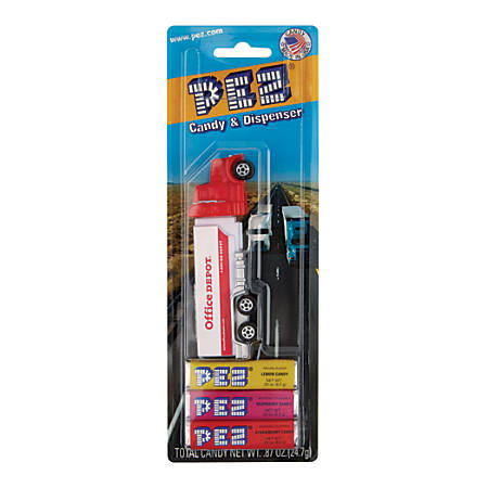 Pez Office Depot® Hauler, 0.87 Oz