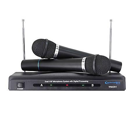 Technical Pro Wireless Microphone, Black, WM201