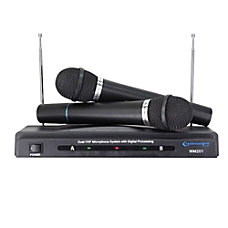 Technical Pro Wireless Microphone Black WM201