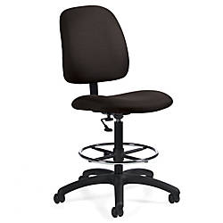 Global Goal Armless Drafting Stool 48