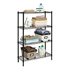 Realspace Wire Shelving 4 Shelves 54