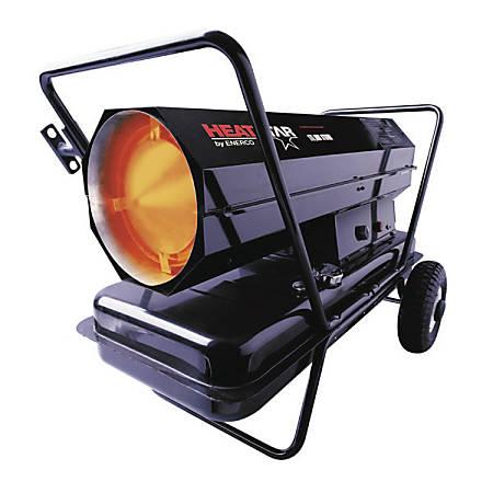 Portable Kerosene/Oil Forced Air Heaters W/T Stat. 175,000 BTU