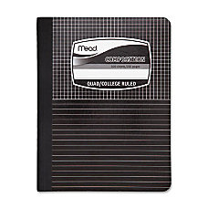 Mead Black Cover Graph Composition Book