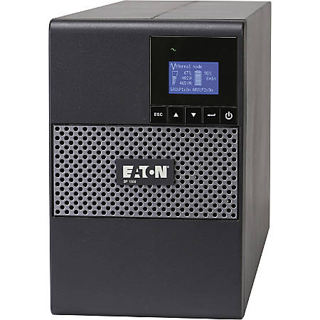 Eaton 5P Tower UPS - Tower - 4 Minute Stand-by - 110 V AC Input - 8 x NEMA 5-15R