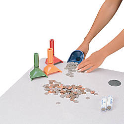 MMF Industries Coin Counting Tube Set