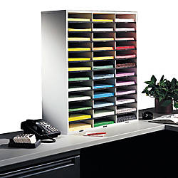 Fellowes Literature Organizer 36 Compartments 34