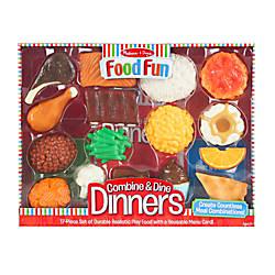 Melissa Doug Food Fun Combine And